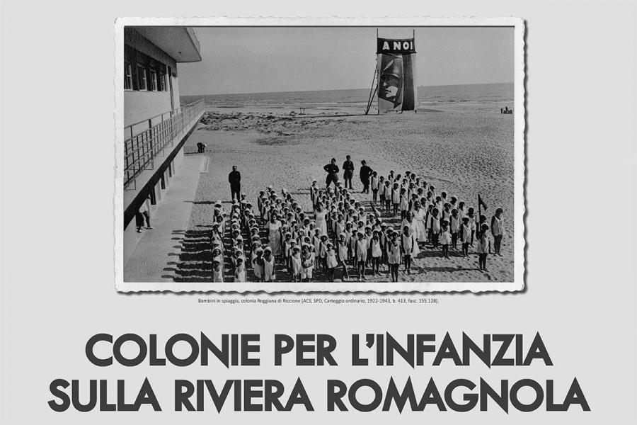2019. Colonie per l'infanzia sulla riviera romagnola. Pedagogia e architetture di regime